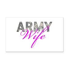 ACU Army Wife Rectangle Car Magnet