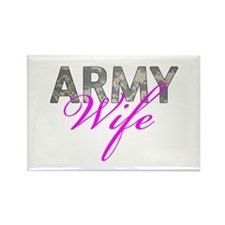 ACU Army Wife Rectangle Magnet