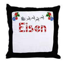 Eisen, Christmas Throw Pillow