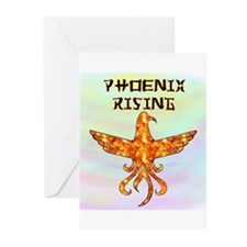 Phoenix Rising Greeting Cards (Pk of 10)