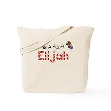 Elijah, Christmas Tote Bag