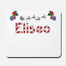 Eliseo, Christmas Mousepad