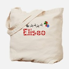 Eliseo, Christmas Tote Bag