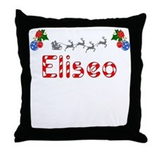 Eliseo, Christmas Throw Pillow