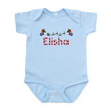 Elisha, Christmas Infant Bodysuit