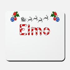 Elmo, Christmas Mousepad