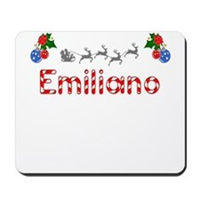 Emiliano, Christmas Mousepad