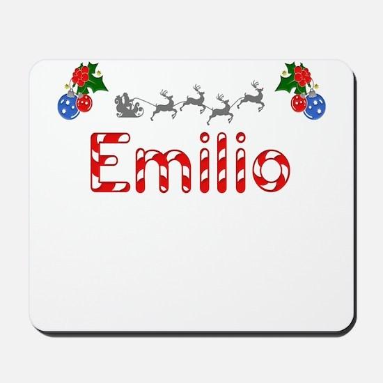 Emilio, Christmas Mousepad