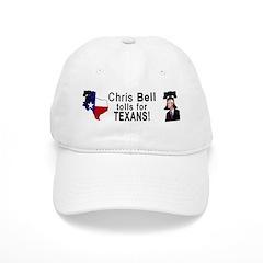 Chris Bell for TX Governor! Baseball Cap
