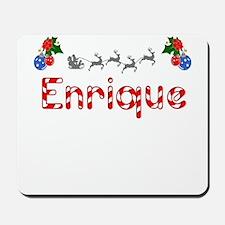 Enrique, Christmas Mousepad