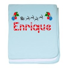 Enrique, Christmas baby blanket