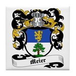 Meier Coat of Arms Tile Coaster