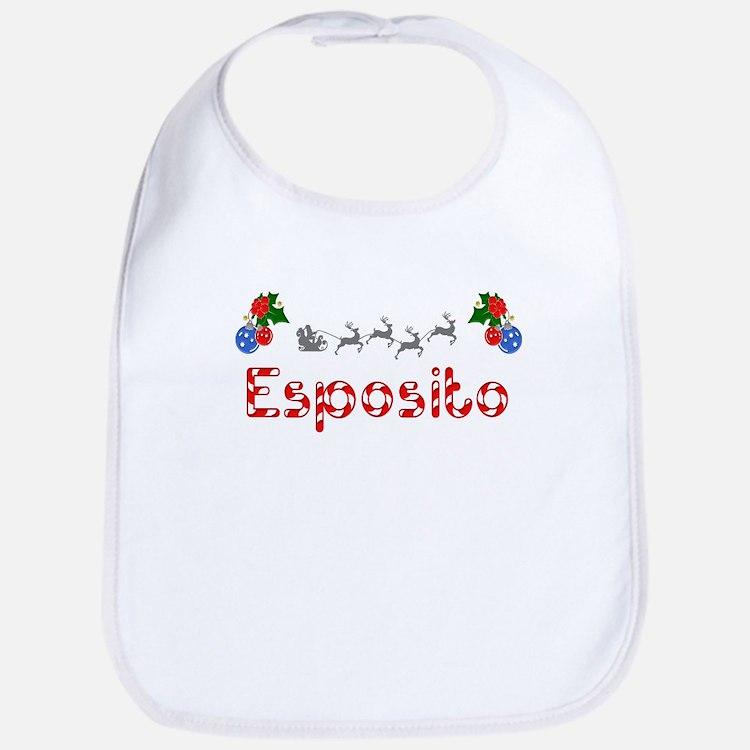Esposito, Christmas Bib