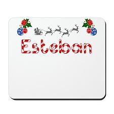 Esteban, Christmas Mousepad