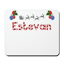 Estevan, Christmas Mousepad