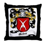 Meder Coat of Arms Throw Pillow