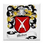 Meder Coat of Arms Tile Coaster