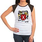 Meder Coat of Arms Women's Cap Sleeve T-Shirt