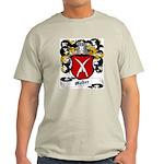 Meder Coat of Arms Ash Grey T-Shirt