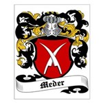 Meder Coat of Arms Small Poster