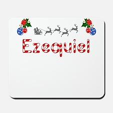Ezequiel, Christmas Mousepad