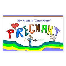 Pregnancy Art Decal