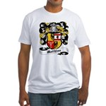 Matthias Coat of Arms Fitted T-Shirt