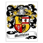 Matthias Coat of Arms Small Poster