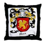 Marx Coat of Arms Throw Pillow
