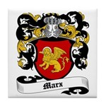 Marx Coat of Arms Tile Coaster