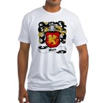 Marx Coat of Arms Fitted T-Shirt