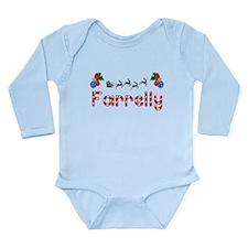 Farrelly, Christmas Long Sleeve Infant Bodysuit