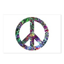 Colorful Peace Sign Postcards (Package of 8)