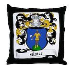 Maier Coat of Arms Throw Pillow
