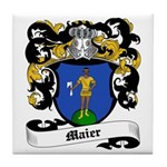 Maier Coat of Arms Tile Coaster