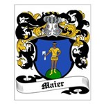 Maier Coat of Arms Small Poster