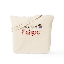 Felipe, Christmas Tote Bag