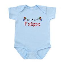 Felipe, Christmas Infant Bodysuit