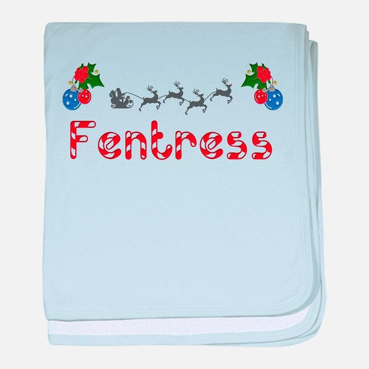 Fentress, Christmas baby blanket