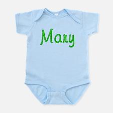 Mary Glitter Gel Infant Bodysuit