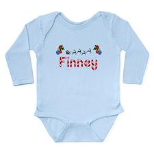 Finney, Christmas Long Sleeve Infant Bodysuit