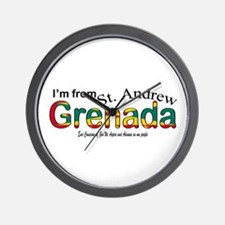 St. Andrew Grenada  Wall Clock