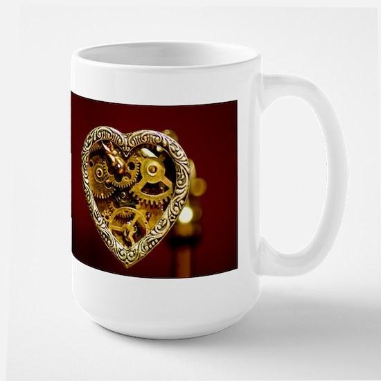 Clockwork Heart Large Mug