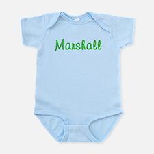 Marshall Glitter Gel Infant Bodysuit