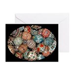 Pysanky Group 1 Greeting Cards (Pk of 10)