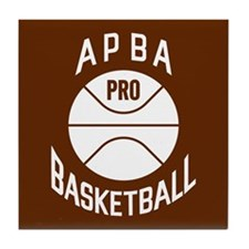 APBA Basketball Card Tile Coaster