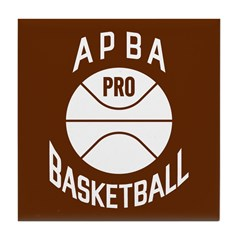 APBA Basketball Card Tile Coaster