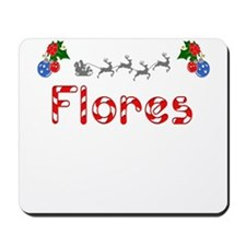 Flores, Christmas Mousepad