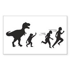 T Rex Evolution Decal