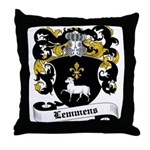 Lemmens Coat of Arms Throw Pillow